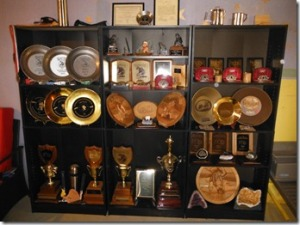 The Rea's Trophy Cabinet